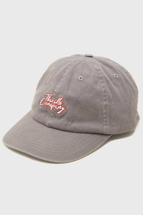Thrills Bad Luck Cap Washed Grey