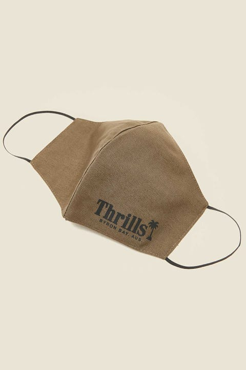 THRILLS Palm of Thrills Mask Army Green