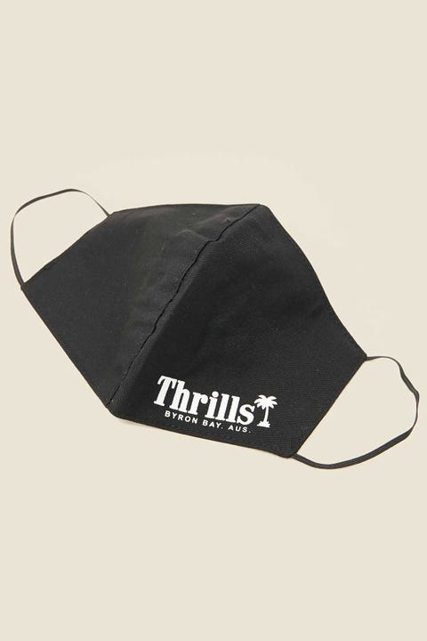 THRILLS Palm of Thrills Mask Merch Black
