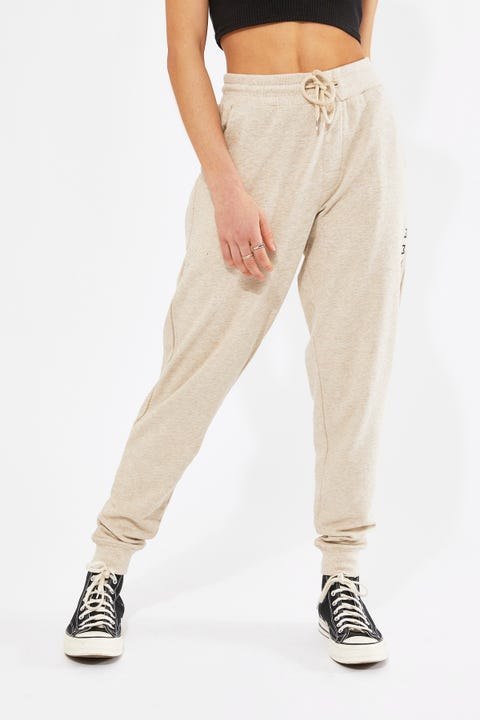 Tommy Jeans Tommy Original Cuffed Pant Oatmeal Heather