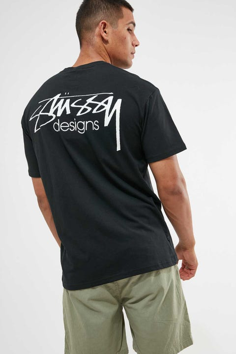 Stussy Designs Tee Black