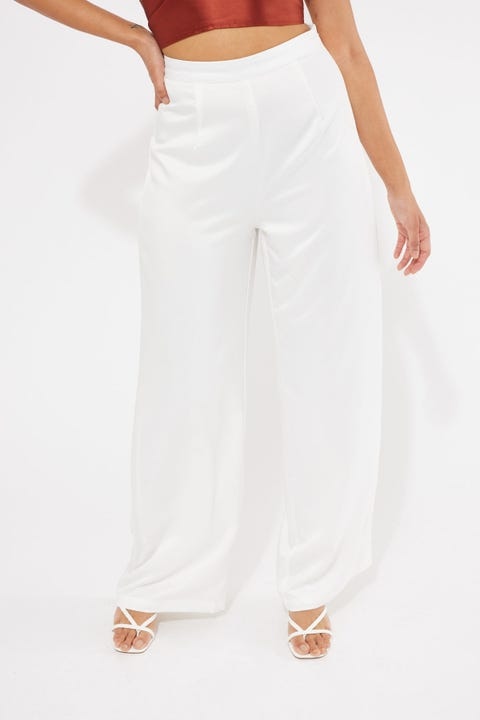 Luck & Trouble After Party Dressy Pant White