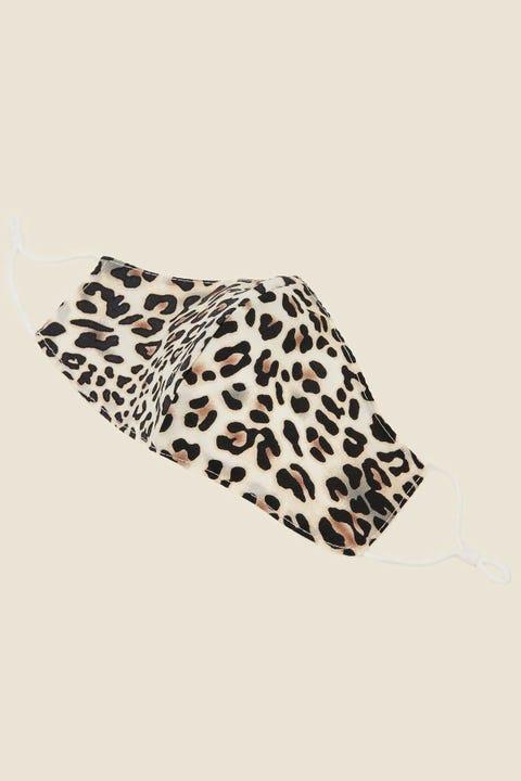TOKEN Cotton Face Mask Leopard