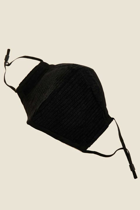 Common Need Cord Face Mask Black