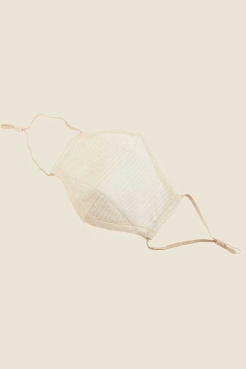 COMMON NEED Cord Face Mask Bone