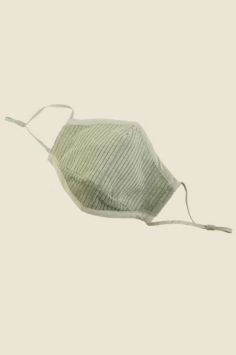 Common Need Cord Face Mask Mineral Green