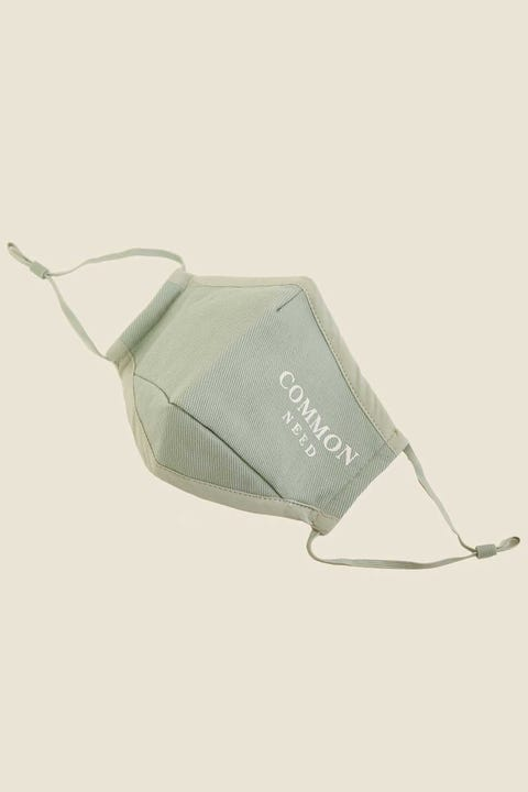 COMMON NEED Onyx Face Mask Mineral Green
