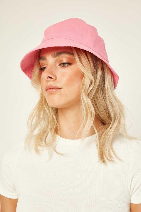 Token No Ordinary Bucket Hat Pink