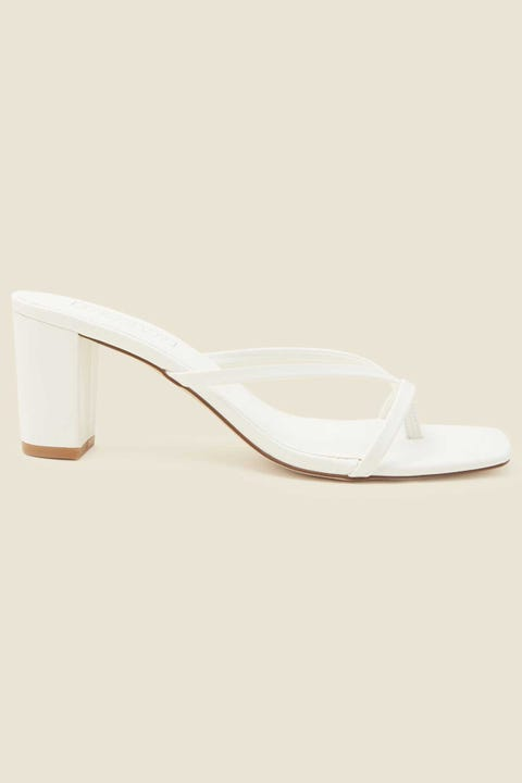 Therapy Olivia White Smooth PU