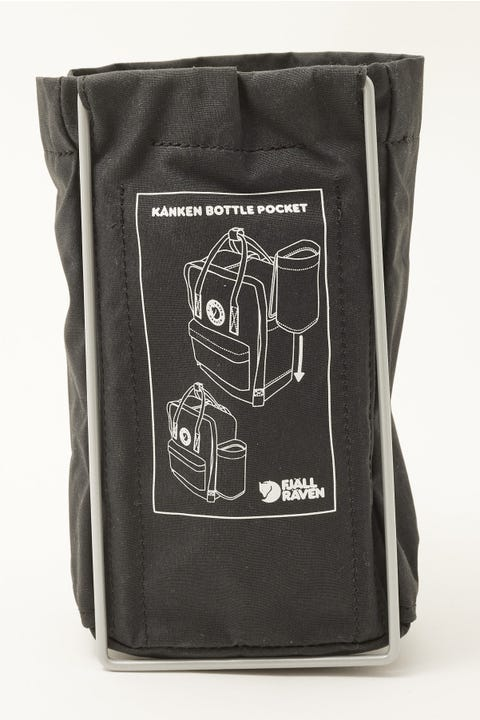 Fjallraven Kanken Bottle Pocket Black