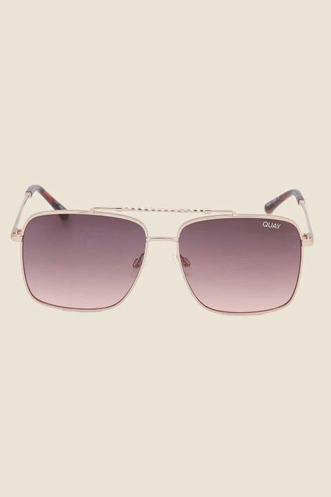 Quay Hot Take Gold/Smk Pink