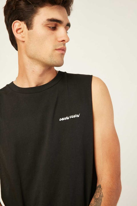 CALVIN KLEIN CK Wave Relaxed Retro Muscle Black