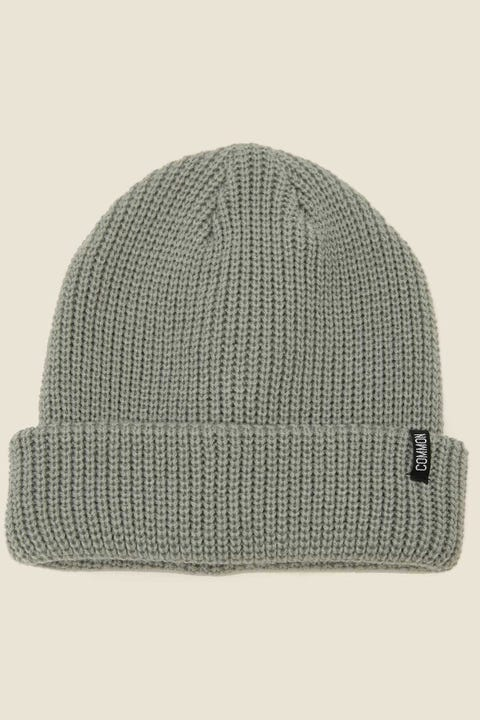 COMMON NEED Low Profile Beanie Dusty Green