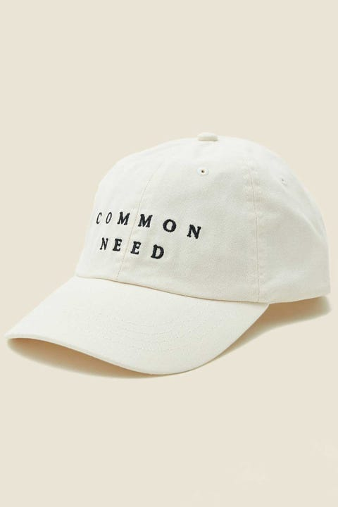 COMMON NEED Archie Cap Off-White