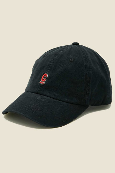 COMMON NEED Hugo Cap Washed Black