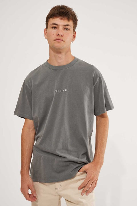 Thrills Minimal Thrills Merch Fit Tee Washed Grey