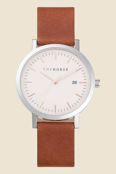 THE HORSE Original Silver/Blush/Tan