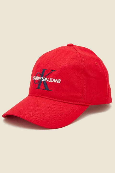 Calvin Klein Monogram Cap Formula One Red