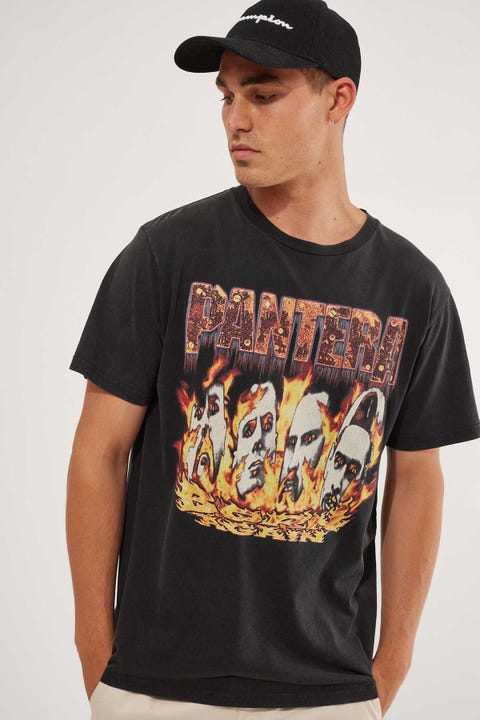 Bravado Pantera Tee Washed Black
