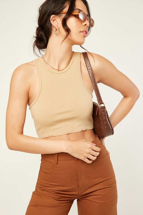 L&T Honey Crop Brown