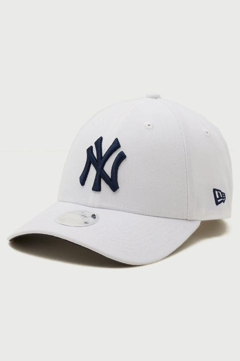 New Era 9Forty NY Yankees White/Navy
