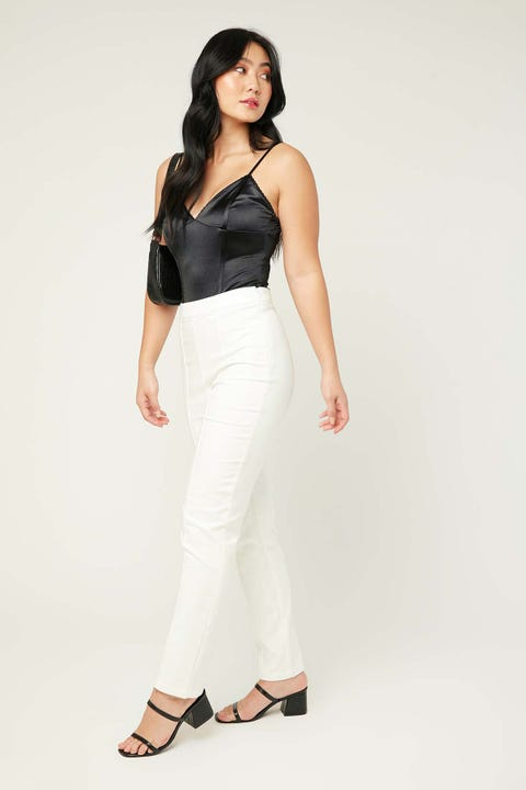 Perfect Stranger Brooklyn Pant White