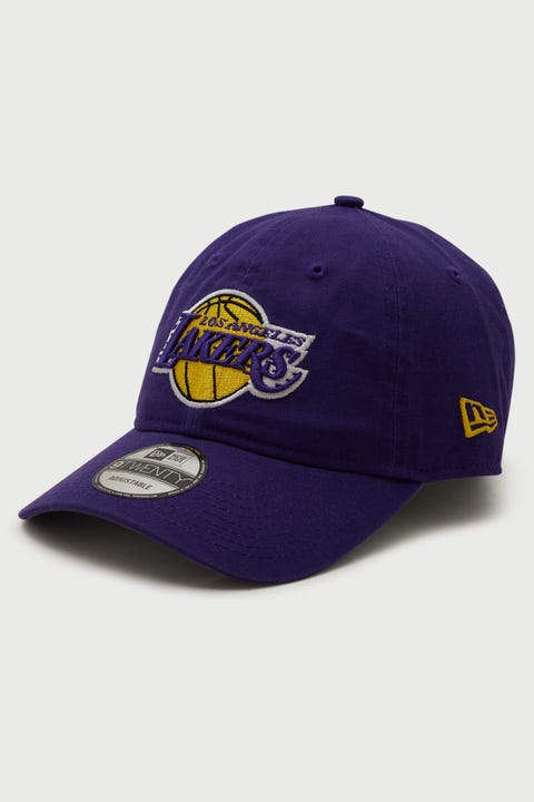 New Era 9Twenty LA Lakers True Purple