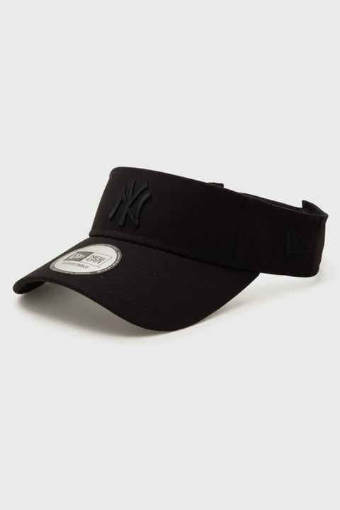 New Era Visor NY Yankees Black/Black