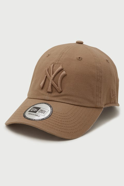 New Era Casual Classic NY Yankees Washed Camel