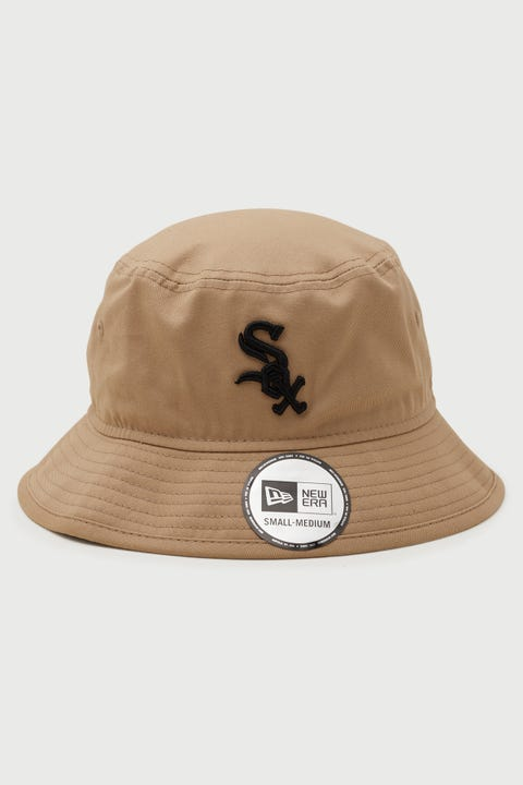 New Era Bucket Chicago White Sox Camel/Black