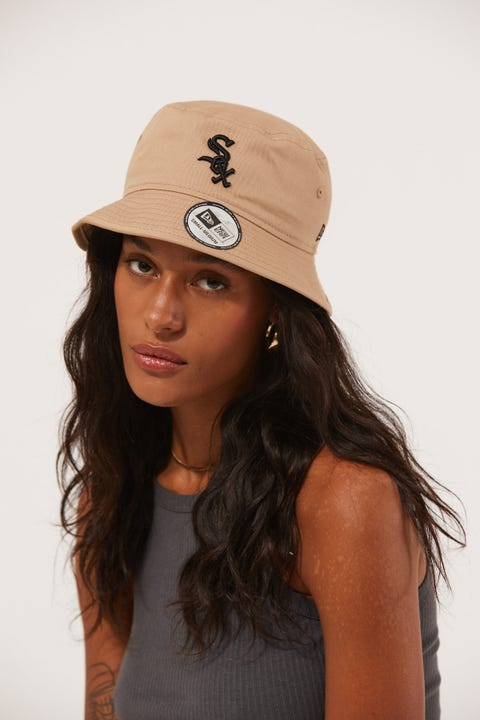 New Era Bucket Chicago White Sox Camel/Black
