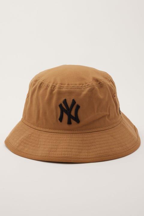 New Era Bucket NY Yankees Wheat/Black