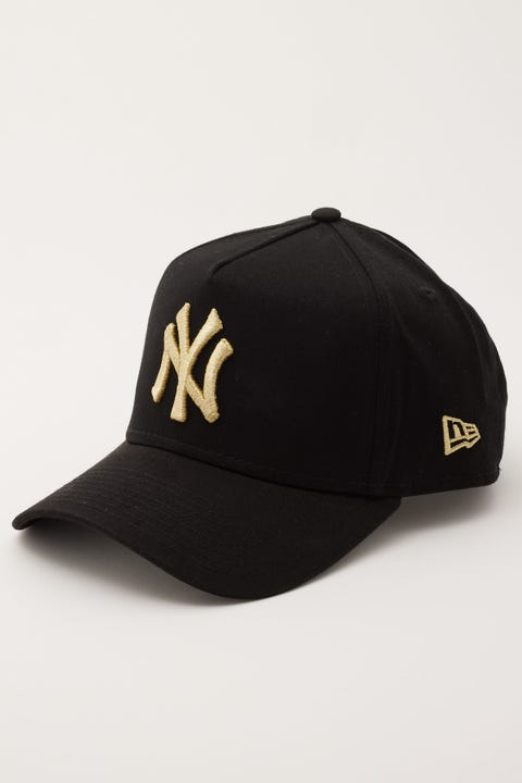New Era 9Forty A-Frame NY Yankees Black/Gold