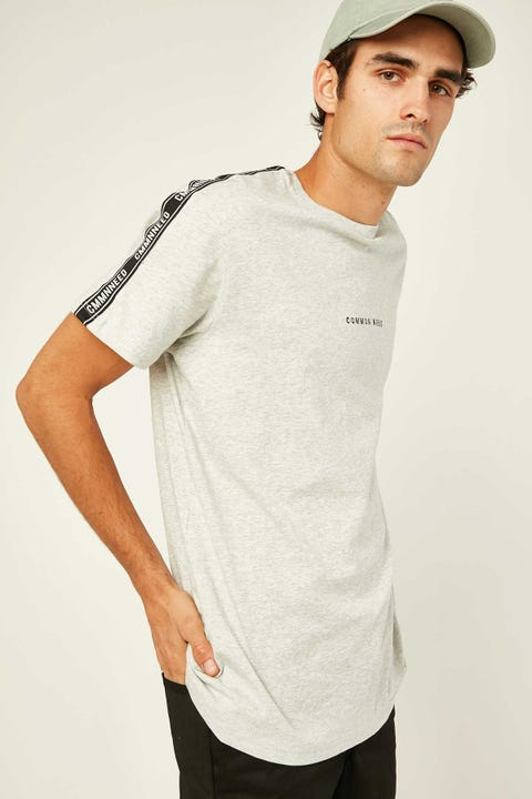 COMMON NEED Tracking Tee Grey Marle