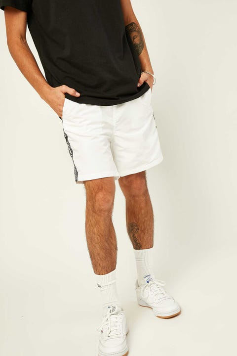 COMMON NEED Stream Quickdry Swim Short White