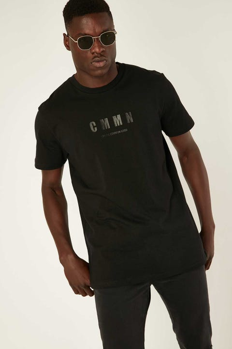 COMMON NEED Upgrade Tee Black