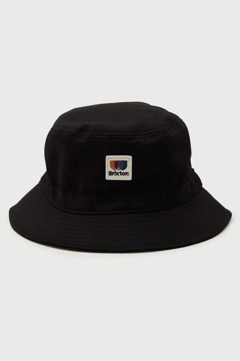 Brixton Alton Bucket Hat Black
