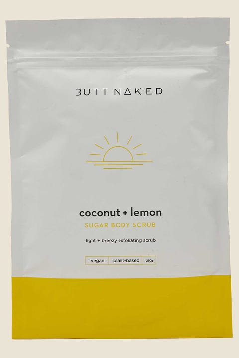 Butt Naked Body Coconut & Lemon Body Scrub
