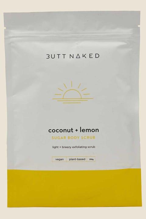 Butt Naked Body Coconut & Lemon Body Scrub