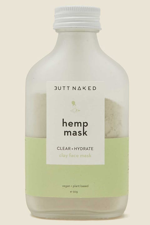 Butt Naked Body Hemp Clay Mask