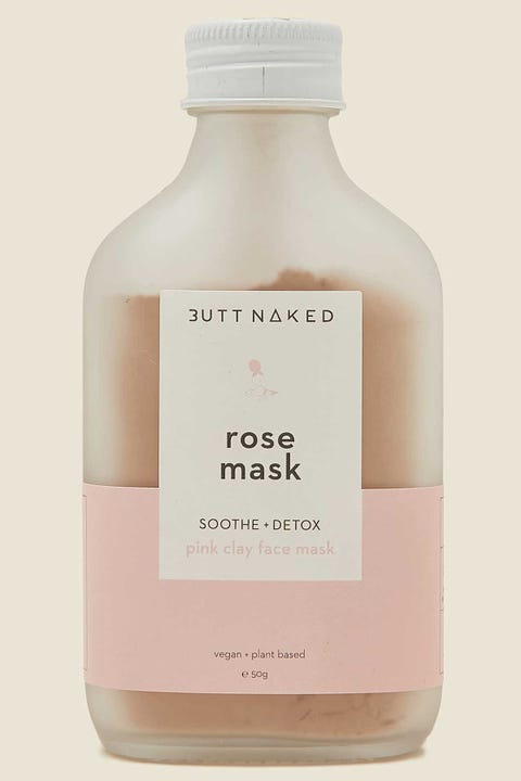 Butt Naked Body Rose Clay Mask