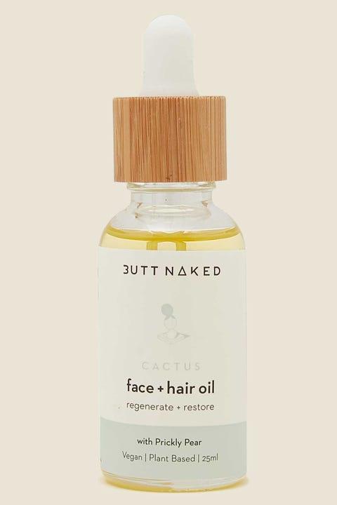 Butt Naked Body Cactus Face & Hair Oil