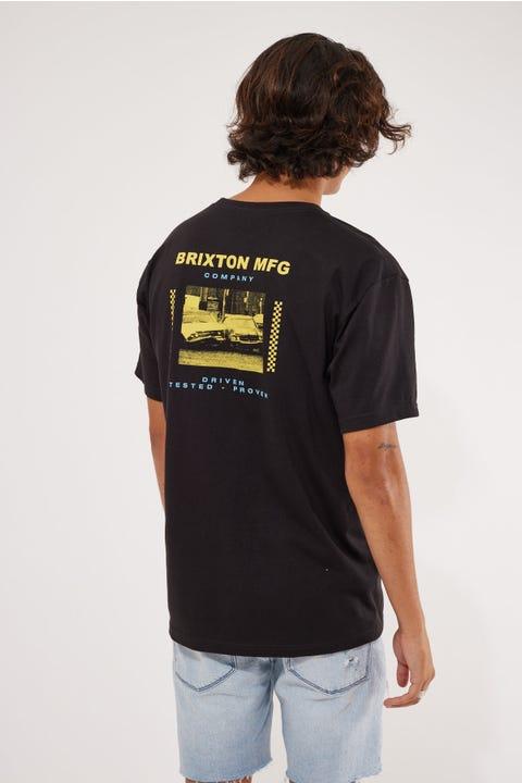 Brixton Sidewinder Tee Black