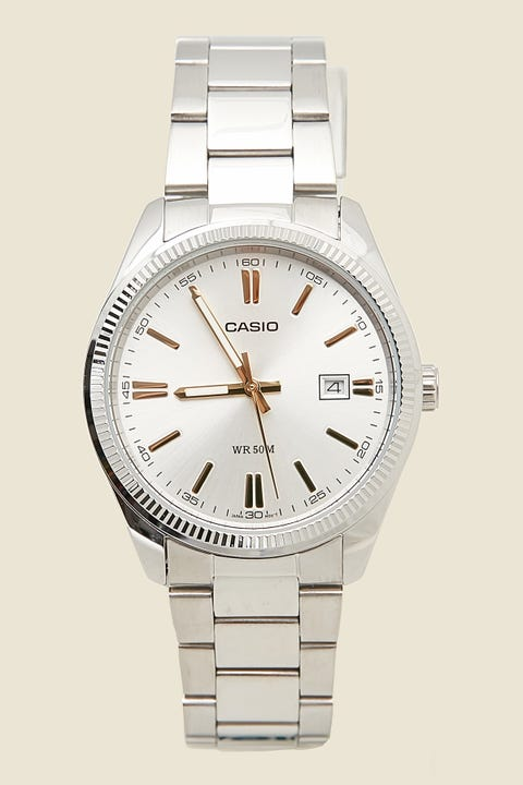 CASIO Analog MTP1302D-7A2 Stainless Steel