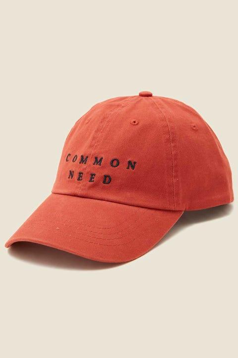 COMMON NEED Archie Cap Autumn Red