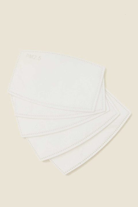 Common Need Face Mask Filter White