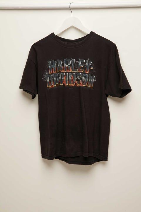 The People Vs Harley Vintage Tee Vintage Black