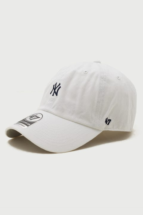 47 Brand Clean Up NY Yankees White