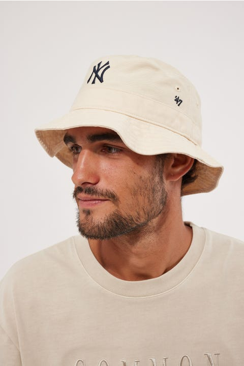 47 Brand Bucket Hat NY Yankees Natural