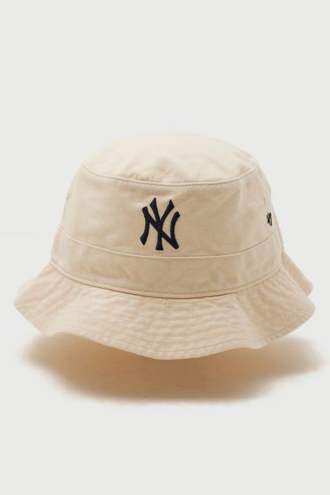 47 Brand Bucket Hat NY Yankees Natural